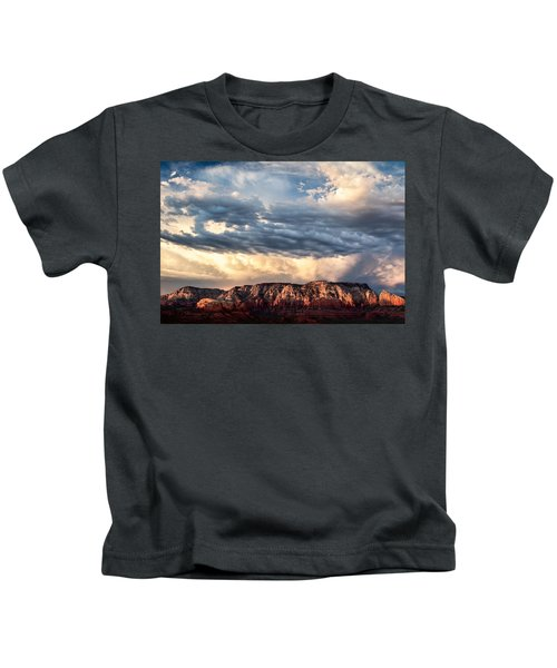 Red Rocks Of Sedona Kids T-Shirt