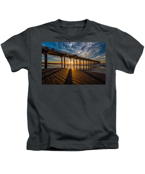 Reflection And Shadow Kids T-Shirt