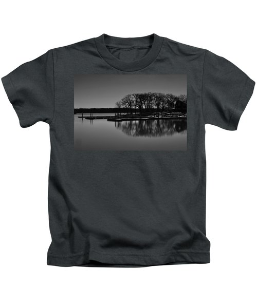 Reflections Of Water Kids T-Shirt