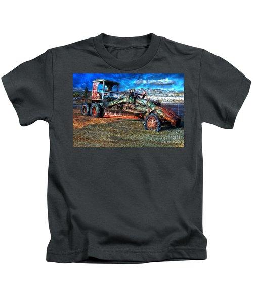 Retired Caterpillar Kids T-Shirt