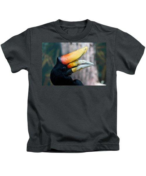 Rhinoceros Hornbill  Kids T-Shirt