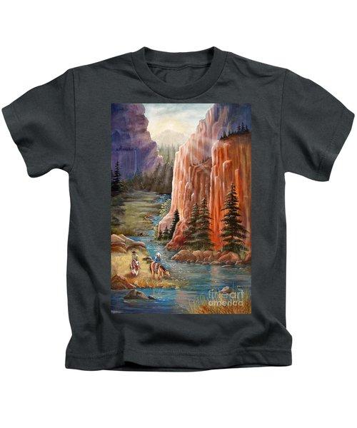 Rim Canyon Ride Kids T-Shirt