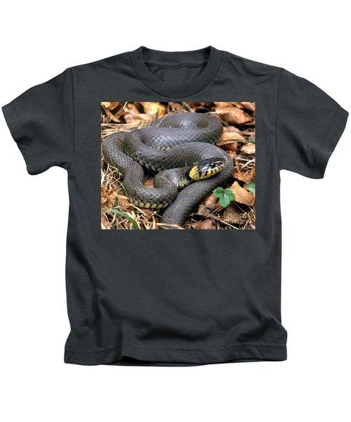 Ringed Snake Kids T-Shirt