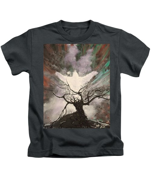 Rising From The Ashes Kids T-Shirt