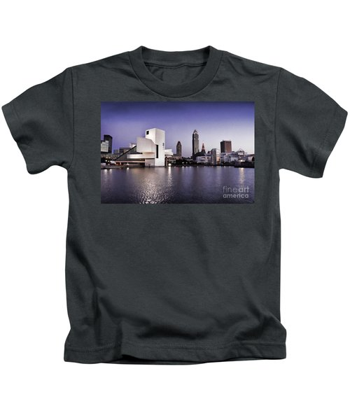 Rock And Roll Hall Of Fame - Cleveland Ohio - 2 Kids T-Shirt