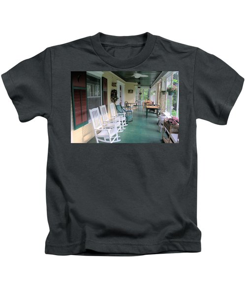 Rockers On The Porch Kids T-Shirt