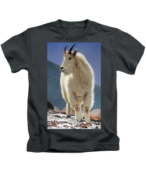 Rocky Mountain Goat Kids T-Shirt