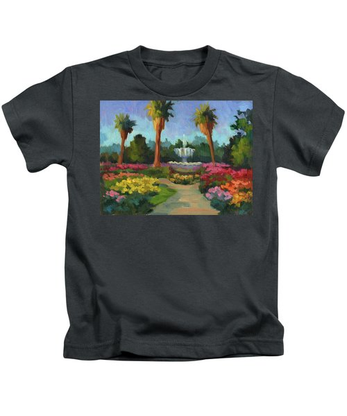 Rose Garden Kids T-Shirt