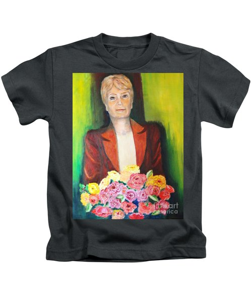 Roses For The Lady Kids T-Shirt