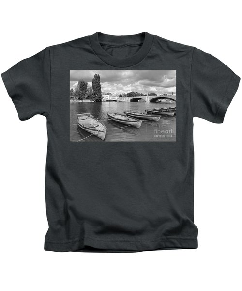 Rowing Boats Kids T-Shirt