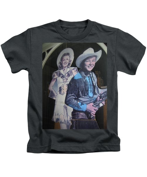Roy Rogers And Dale Evans #2 Cut-outs Tombstone Arizona 2004 Kids T-Shirt