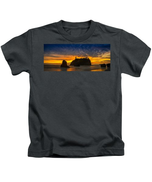 Ruby Beach Olympic National Park Kids T-Shirt