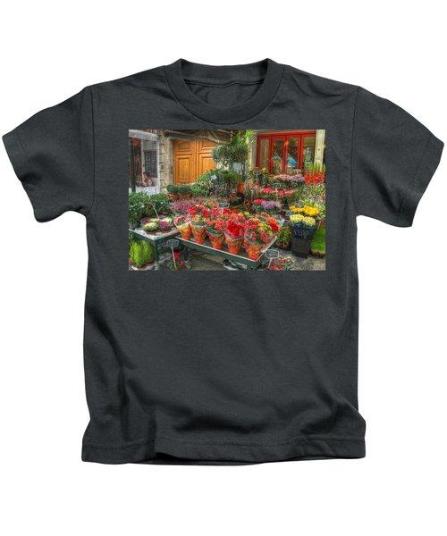 Rue Cler Flower Shop Kids T-Shirt