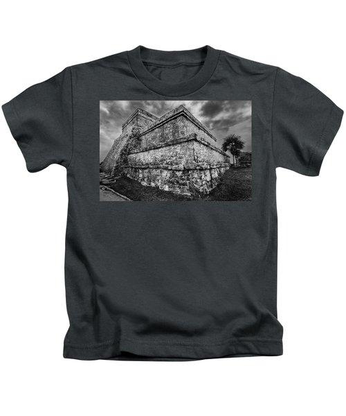 Ruin At Tulum Kids T-Shirt