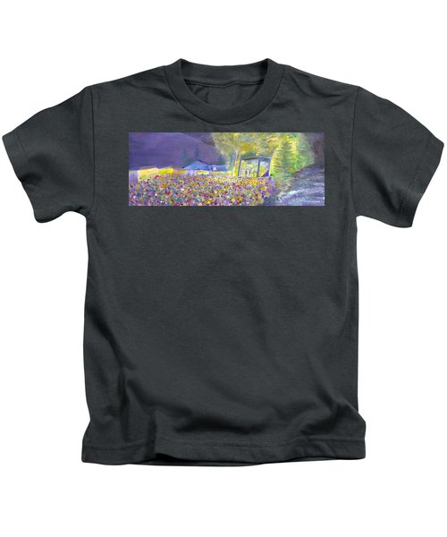 Head For The Hills At The Mish 2011 Kids T-Shirt