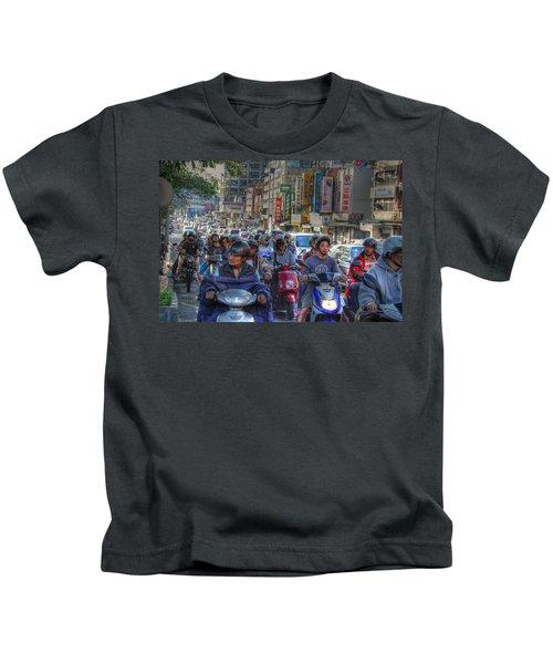 Rush Hour Kids T-Shirt