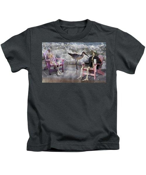 Sam And Friend In Wonderland Kids T-Shirt
