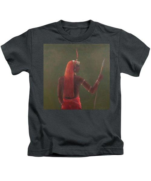 Samburu, 2012 Acrylic On Canvas Kids T-Shirt