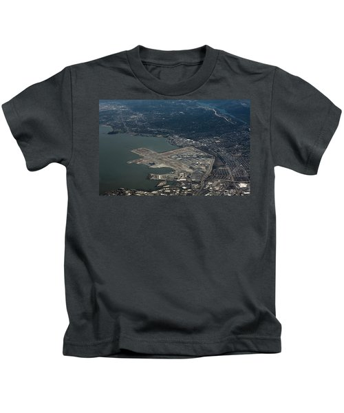 San Francisco International Airport Kids T-Shirt