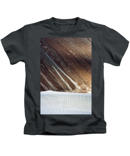 Sand Abstract, Hunder, 2006 Kids T-Shirt