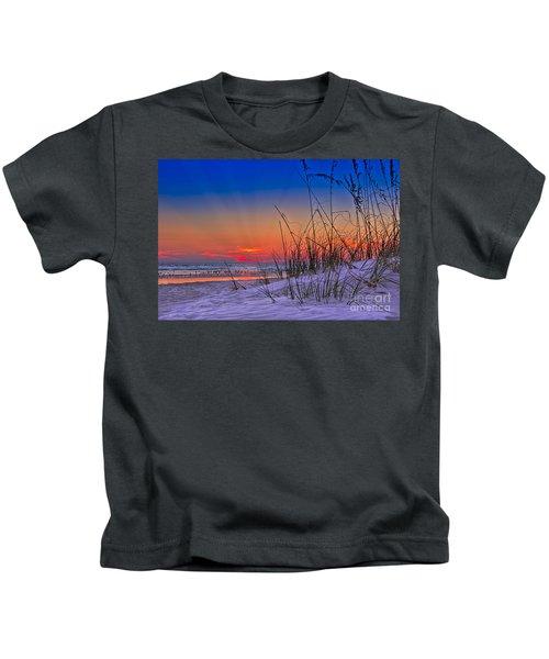 Sand And Sea Kids T-Shirt