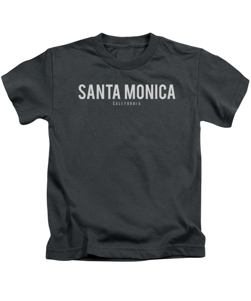 Santa Monica, California Kids T-Shirt by Design Ideas