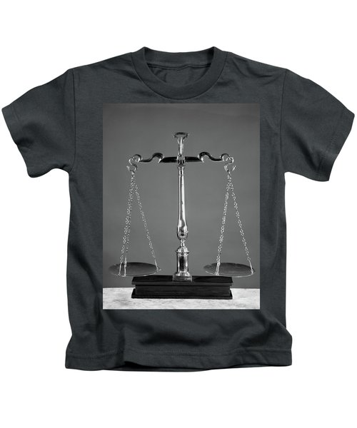 Scales Of Justice Kids T-Shirt