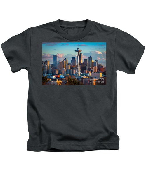 Seattle Afternoon Kids T-Shirt