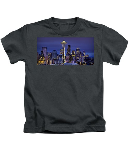 Seattle Skies Kids T-Shirt