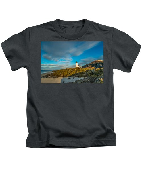 Seaweed Swagger And Time Traveling Clouds  At Annisquam Harbor L Kids T-Shirt