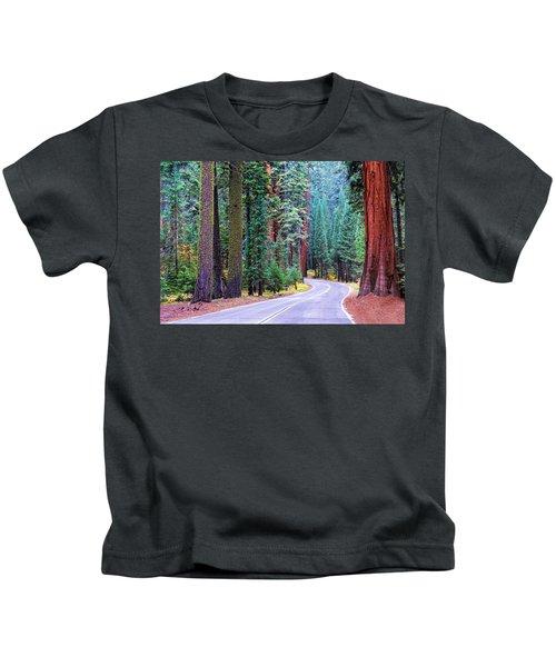 Sequoia Hwy Kids T-Shirt