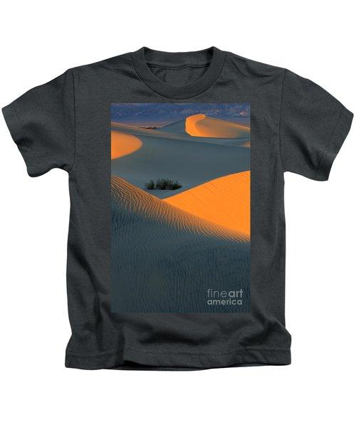 Death Valley Serenade In Light Kids T-Shirt