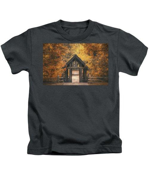 Seven Bridges Trail Head Kids T-Shirt