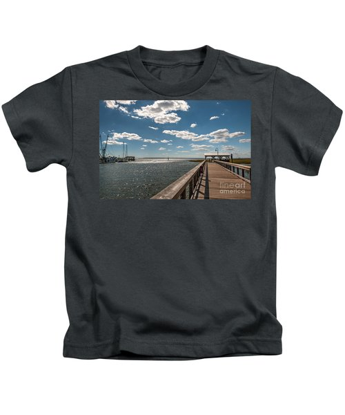 Shem Creek Pavilion  Kids T-Shirt