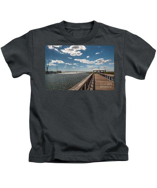 Shem Creek Pavilion  Kids T-Shirt