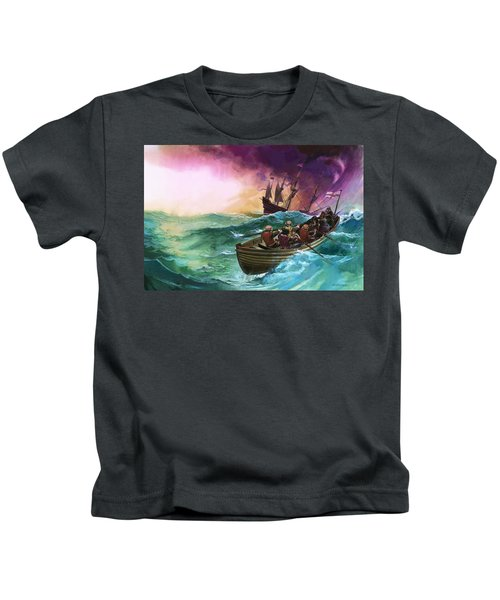 Shipwrecked Sailors Kids T-Shirt
