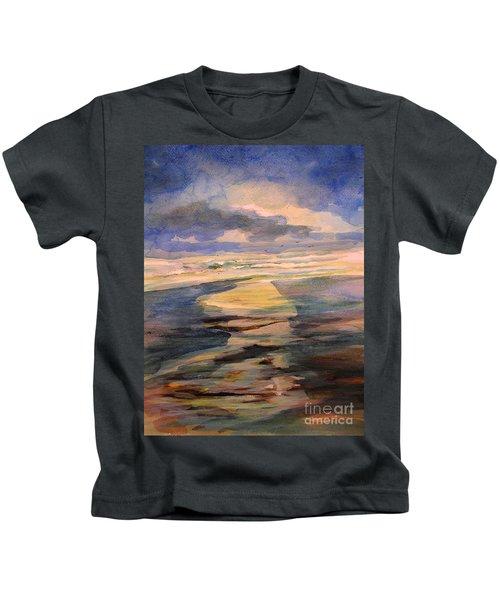 Shoreline Sunrise 11-9-14 Kids T-Shirt