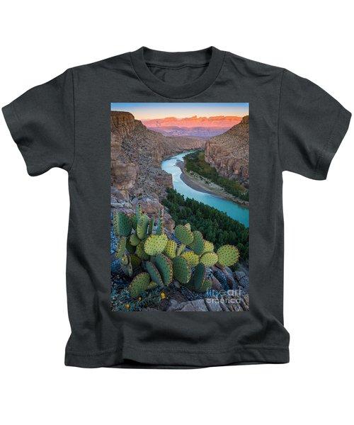 Sierra Del Carmen Kids T-Shirt