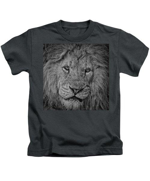 Silver Lion Kids T-Shirt