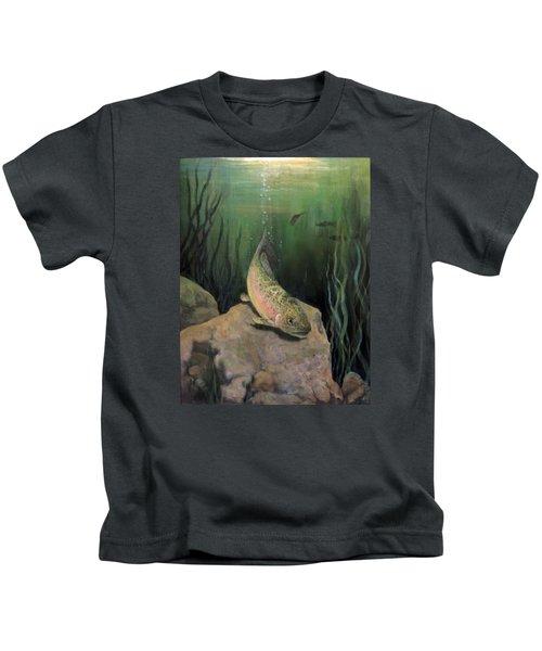 Single Trout Kids T-Shirt