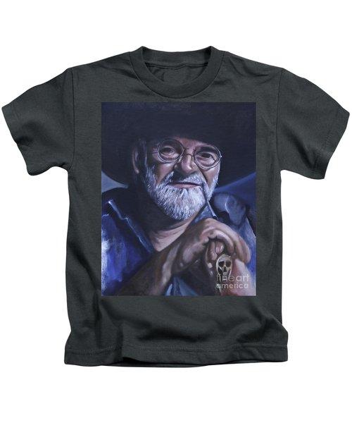Sir Terry Pratchett Kids T-Shirt