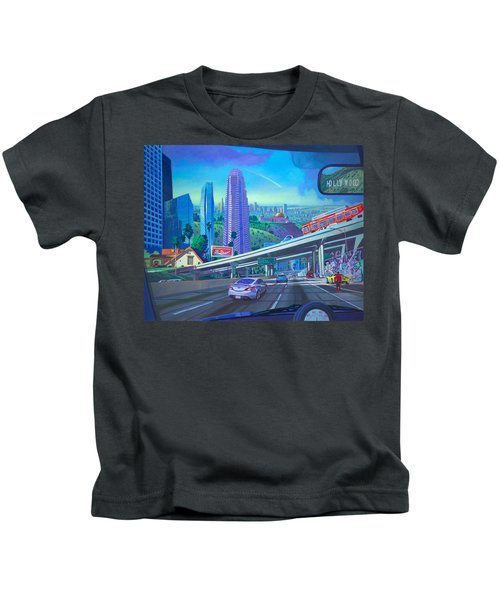 Skyfall Double Vision Kids T-Shirt