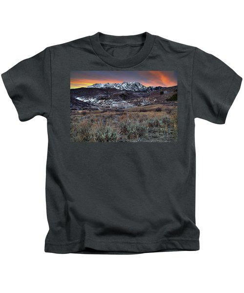 Snowbasin Fire And Ice Kids T-Shirt
