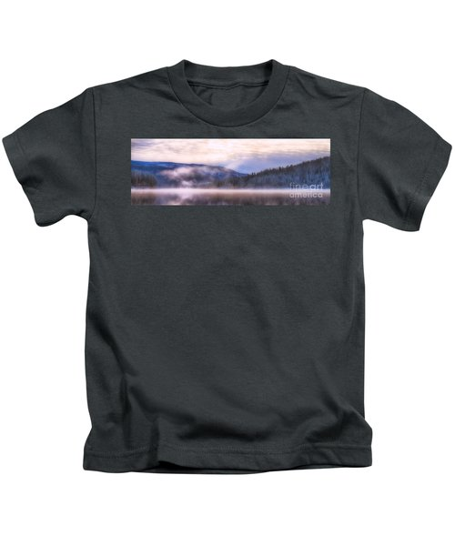Soft Light Of Winter Kids T-Shirt