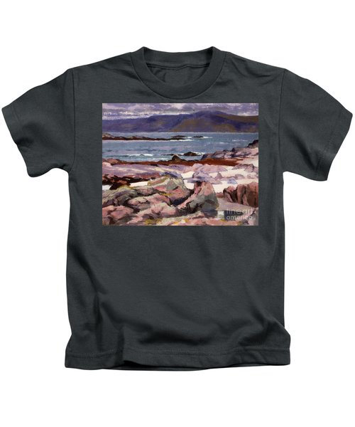Sound Of Iona  The Burg From The North Shore Kids T-Shirt