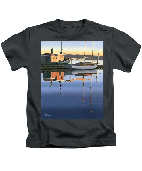 South Harbour Reflections Kids T-Shirt