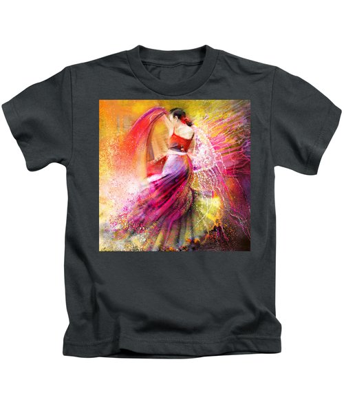 Spain - Flamencoscape 12 Kids T-Shirt