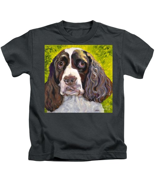 Spaniel The Eyes Have It Kids T-Shirt