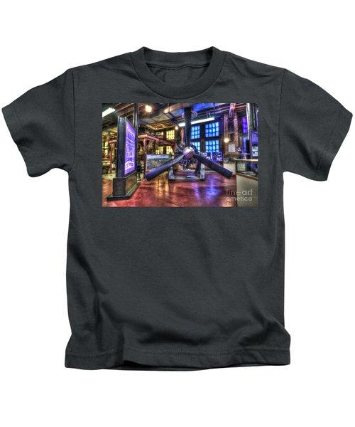 Spirit Of St.louis Engine Kids T-Shirt