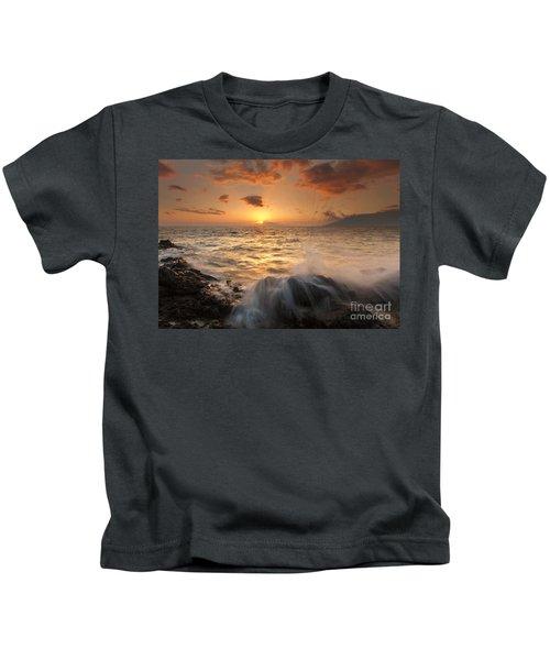 Splash Of Paradise Kids T-Shirt
